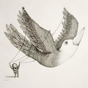 Artwork by Tesura entitled &quot;Free as a bird&quot;